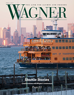 Wagner Magazine Cover Fall 2017