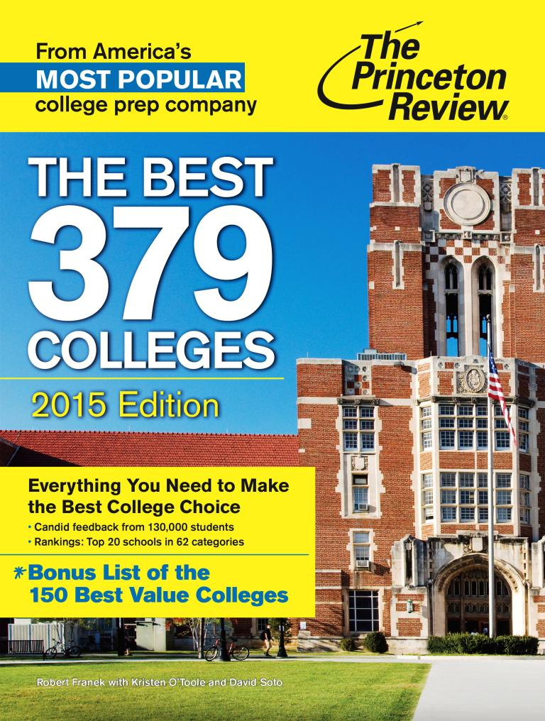 2014 (2015) Best 379 Colleges cover (web)