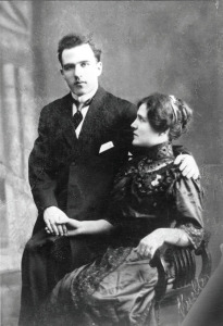 THE FIRST GENERATION: Louis and Brigida Guarasci, circa 1915.