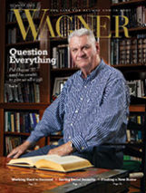 Cover of Wagner Magazine Summer 2013