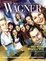 Cover of Wagner Magazine Summer 2009