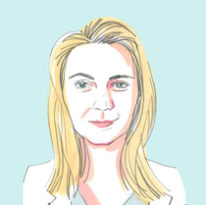 Illustration of Julia Zenker '14